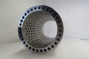 切削加工事例 Alloy 600 (インコネル相当品) 切削加工部品 6 筒状穴2