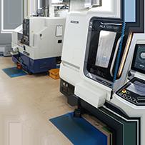 切削加工品を制作する設備の紹介
