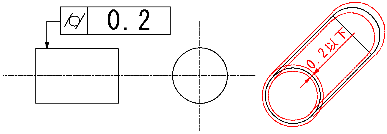 円筒度 図